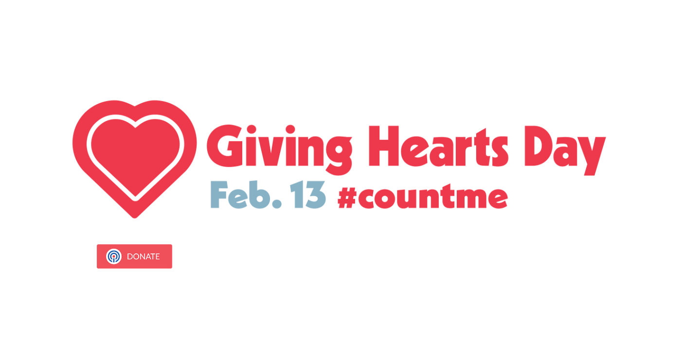 Giving Hearts Day Feb 13, 2020 #countme