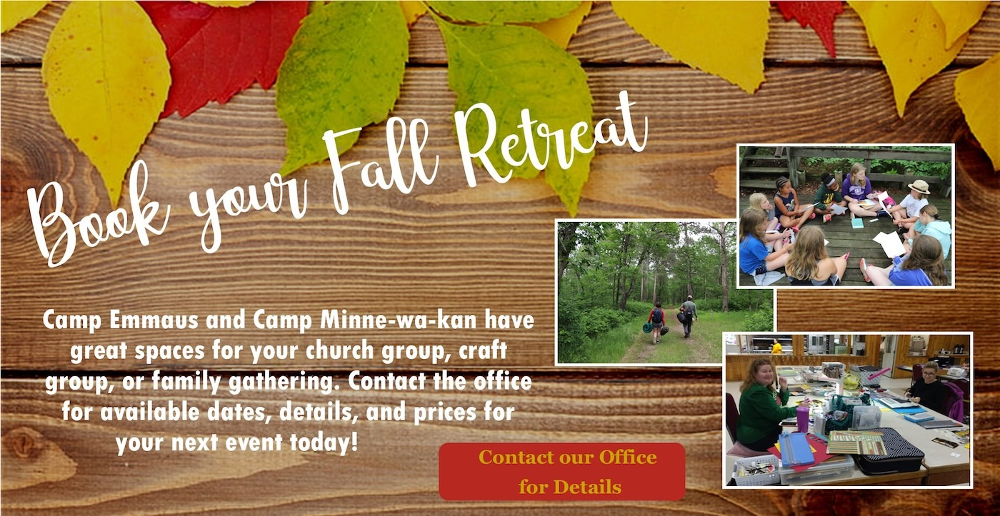 Book Your Fall Retreat