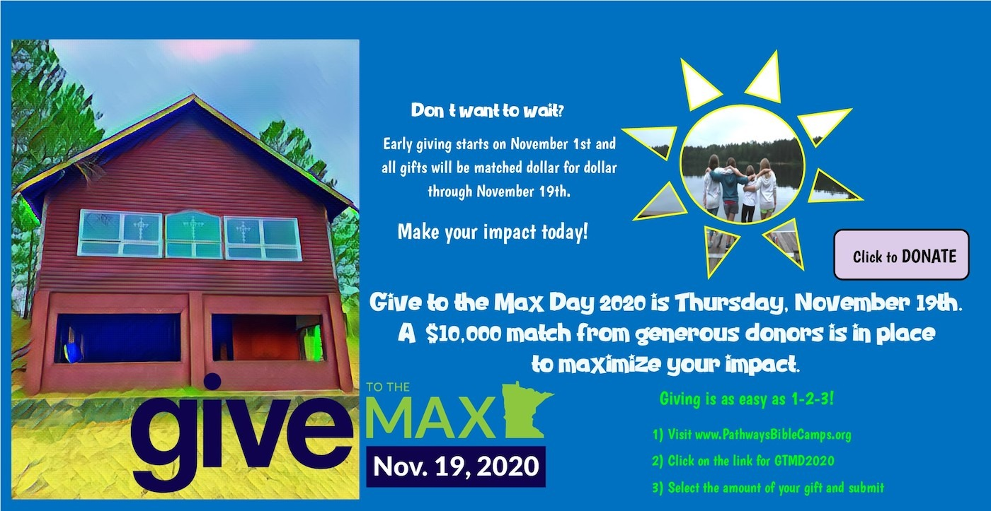 Give to the Max Day is November 19th